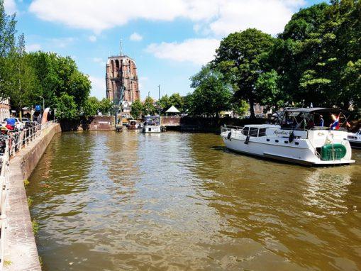 Foto stadspark en jachthaven De Princentuin Leeuwarden