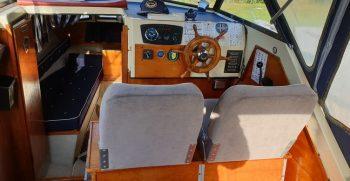Foto Fevik 23 Noorse Spitsgatter cockpit